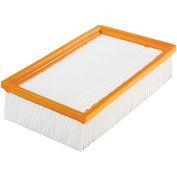 BOSCH® Airsweep™ Flat Pes Filter, 1 Flat Pleated Pes Filter