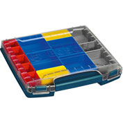 "BOSCH® Closed Case Drawer(Thin) W/Set Of 12 Organizers For L-Boxx-3D,14.25""Lx2.25""H - Pkg Qty 3"