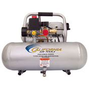 California Air Tools CAT-2010ALFC, Ultra Quiet & Oil-Free Industrial Air Comp., 2 Gallon, Horizontal