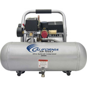 California Air Tools 2050A Ultra Quiet & Oil-Free 1/2 HP, 2 Gal. Aluminum Tank Air Compressor