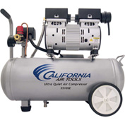 California Air Tools 5510 Ultra Quiet & Oil-Free 1 HP, 5.5 Gal. Steel Tank Air Compressor