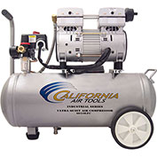 California Air Tools 6010LFC IND. Ultra Quiet & Oil-Free 1 HP, 6 Gal. Steel Tank Air Compressor