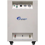 California Air Tools 8010DSPC Ultra Quiet&Oil-Free 1HP 8Gal.Air Comp.W/Air Dryer Sound Proof Cabinet