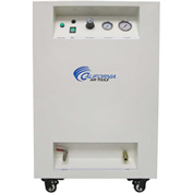 California Air Tools 8010SPC Ultra Quiet & Oil-Free 1 HP 8 Gal Air Compressor in Sound Proof Cabinet