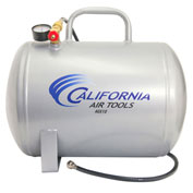 California Air Tools CAT-AUX10, 10 Gallon Portable Steel Air Tank, Horizontal