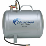 California Air Tools AUX10A, 10 Gallon Lightweight(Rust Free) Portable Aluminum Air Tank, Horizontal