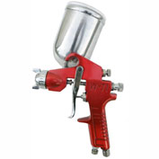 SPRAYIT Gravity Feed Spray Gun With Aluminum Swivel Cup SP-352, 60 Max PSI, 1.5mm Dia. Nozzle