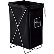 Hamper Kit, Black Vinyl, Standard Pocket