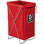 Hamper Kit, Red Vinyl, Enviro Pocket
