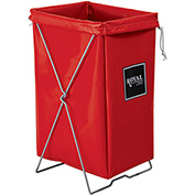 Hamper Kit, Red Vinyl, Standard Pocket