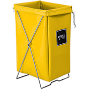 Hamper Kit, Yellow Vinyl, Standard Pocket