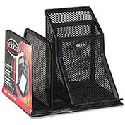 Wire Mesh Desk Organizer, Black
