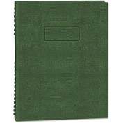 "Blueline® Exec Wirebound Notebook A7150EGRN, 9-1/4"" x 7-1/4"", Green Cover, 75 Sheets/Pad"