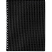 "Blueline® Poly Cvr Notebook B4181, 8-1/2"" x 11"", Black Cover, 80 Sheets/Pad, 1 Pad/Pack"