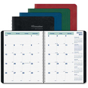 "Brownline® 14-Month Academic Planner 11-3/8"" x 9"" x 5/16"" Assorted"