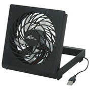 "Royal Sovereign 6"" USB Fan DFN-04, 5V DC, Black"