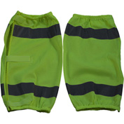 Petra Roc Leg Gaiter, ANSI Class E, Polyester Mesh, Lime, One Size, 1 Pair