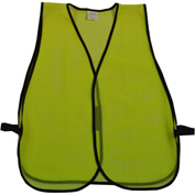 Petra Roc Non-ANSI All Purpose Safety Vest, Polyester Mesh, Lime, One Size