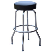"Richardson Seating Swivel Barstool - 24""H - Black"