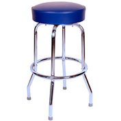 "Richardson Seating Swivel Barstool - 24""H - Blue"
