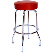 "Richardson Seating Swivel Barstool - 24""H - Wine"