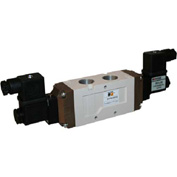 ROSS 5/3 Closed Center Double Solenoid Controlled Directional Valve, 24VDC, 9577K3010W