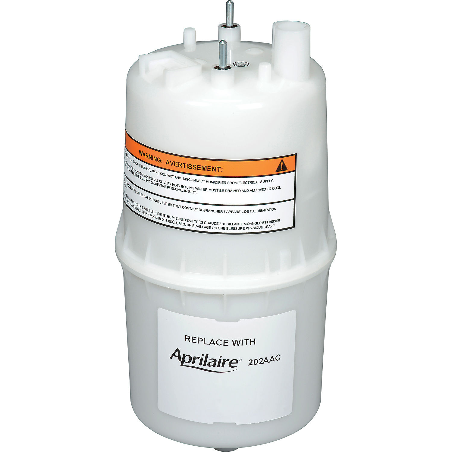 Aprilaire Replacement Steam Cylinder 202AAC, For Honeywell & Nortec Humidifiers - Pkg Qty 6