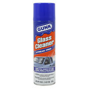 GUNK® Glass Cleaner - Streak Free, 19 oz. Aerosol - GC1 - Pkg Qty 12