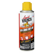Liquid Wrench® Lock & Hinge Dry Lube, 4.5 oz. Aerosol - LHL04/6 - Pkg Qty 6