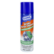 GUNK® Non-Chlorinated Brake Parts Cleaner, 14 oz. Aerosol - M709 - Pkg Qty 12