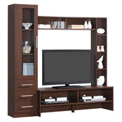 "Techni Mobili Entertainment Center with Storage For TVs up to 50"" - Hickory"