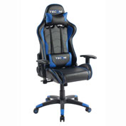 Techni Sport Office PC Gaming Chair - Black and Blue