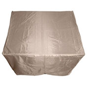 "Hiland Fire Pit Cover HLI-F-SCVR Square Heavy Duty Waterproof 45""L x 45""W x 23""H Tan"