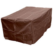 "Hiland Fire Pit Cover HVD-1010CVR-M Rectangle Heavy Duty Waterproof 50""L x 38""W x 23""H Mocha"