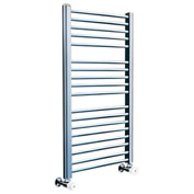 Myson Hydronic Towel Warmer Steel COS126SN Satin Nickel 2120 BTU/H