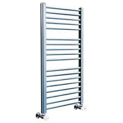 Myson Hydronic Towel Warmer Steel COS85SN Satin Nickel 1302 BTU/H