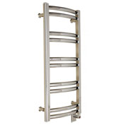 Myson Electric Towel Warmer Brass ECMH-3/2SN Satin Nickel 110V