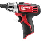 Milwaukee® 2401-20 M12™ Cordless Screwdriver (Bare Tool Only)