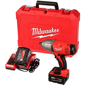 "Milwaukee 2663-22 M18 Cordless 1/2"" High Torque Impact Wrench W/Friction Ring Kit"