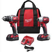 Milwaukee® 2691-22 M18™ Cordless Li-Ion 2-Tool Combo Kit