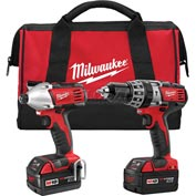 Milwaukee® 2697-22 M18™ Cordless Li-Ion 2-Tool Combo Kit