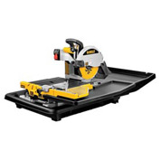 "DeWALT® D24000 10"" Wet Tile Saw"