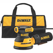 "DeWALT® DWE6421K 5"" Single Speed Random Orbit Sander Kit - H&L Pad"