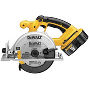 "DeWALT® DC390K 6-1/2"" (165mm) 18V Cordless XRP™ Circular Saw Kit"