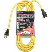 U.S. Wire 57025 Temp-Flex 35 Extension Cord 25 Ft. 14/3 300V