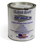 Rust Bullet Clear Shot Coating Pint Can 1/Case - CSP