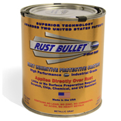 Rust Bullet Standard Formula Rust Inhibitive Coating Quart Can 1/Case - RB13