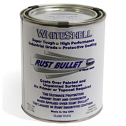 Rust Bullet WhiteShell Rust Inhibitive Coating Pint Can 1/Case - WSP