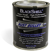 Rust Bullet BlackShell Rust Inhibitive Coating Quart Can 24/Case - BSQ-C24
