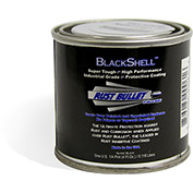 Rust Bullet BlackShell Rust Inhibitive Coating 1/4 Pint Can 24/Case - BSQP-C24